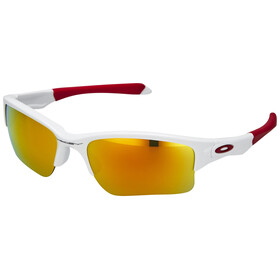 Oakley Quarter Jacket Bike Glasses Children white